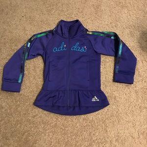 Adidas Toddler Girls Size 4T Track Jkt